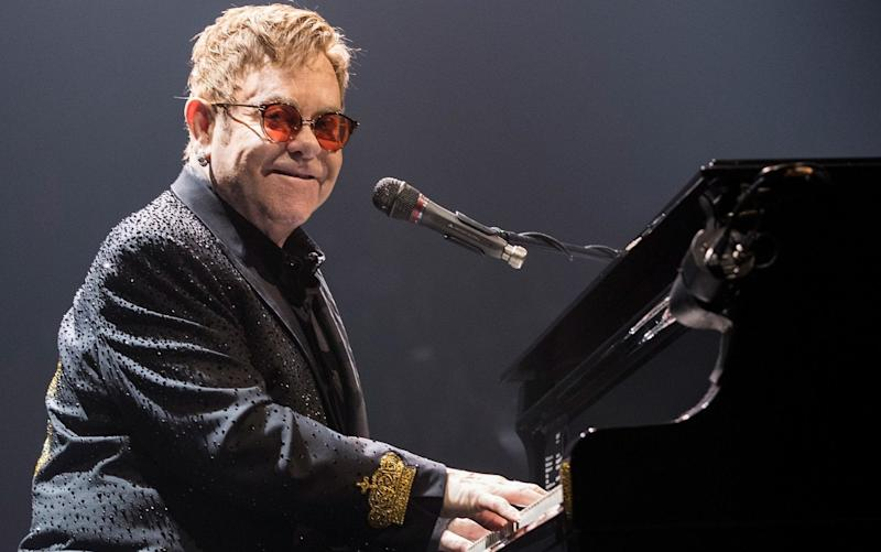 Elton John is now recovering from the infection, but has cancelled a number of performances - Getty Images North America
