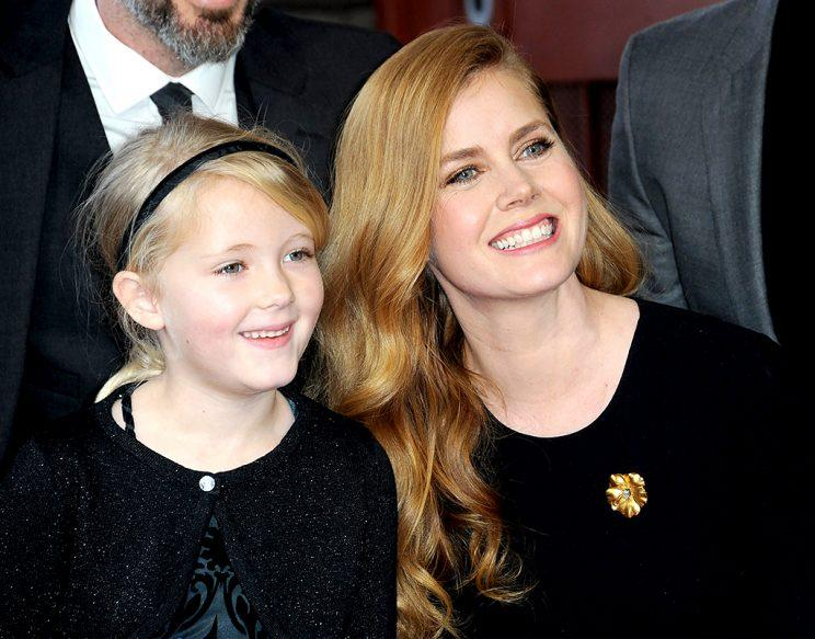 HOLLYWOOD, CA - JANUARY 11: Actress Amy Adams with daughter Aviana Olea Le Gallo at her Star Ceremony held On The Hollywood Walk Of Fame on January 11, 2017 in Hollywood, California. (Photo: Albert L. Ortega/Getty Images)