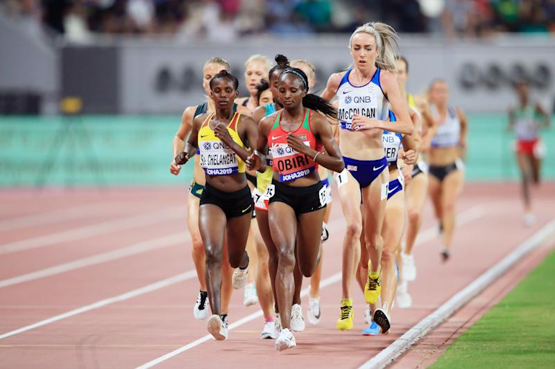 McColgan will compete in the 5000 metres final and is looking to achieve her personal best time. (Credit: Getty Images)