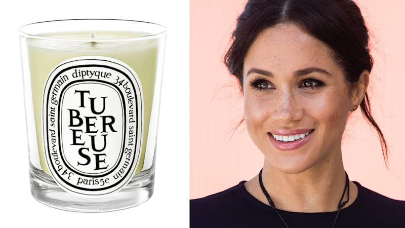 The fragrance of Harry & Meghan's wedding is available in candle form. (Photo: Nordstrom/Getty)