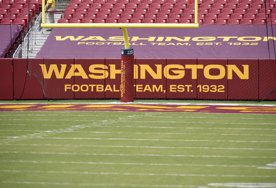 Federal law enforcement raided the townhome of Washington Football Team head athletic trainer Ryan Vermillion last week. (Photo by Randy Litzinger/Icon Sportswire via Getty Images)