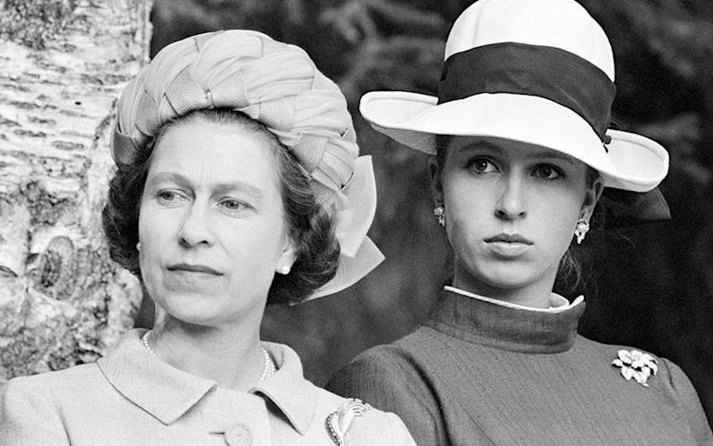 The Queen and Princess Anne in Norway in 1969 - Ray Bellisario/Popperfoto via Getty Images/Getty Images