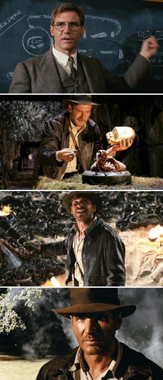"""Ford in """"Raiders of the Lost Ark"""""""