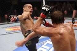 Will Renan Barao win his title back on Saturday? (Getty)