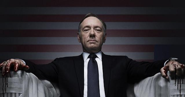 Kevin Spacey in <em>House of Cards.</em> (Photo: Netflix)