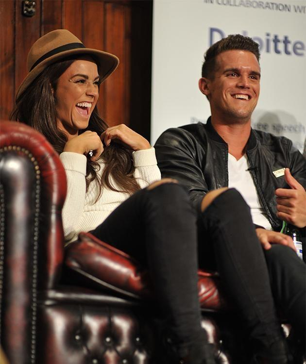 Vicky and Gaz in happier times. Photo: Getty