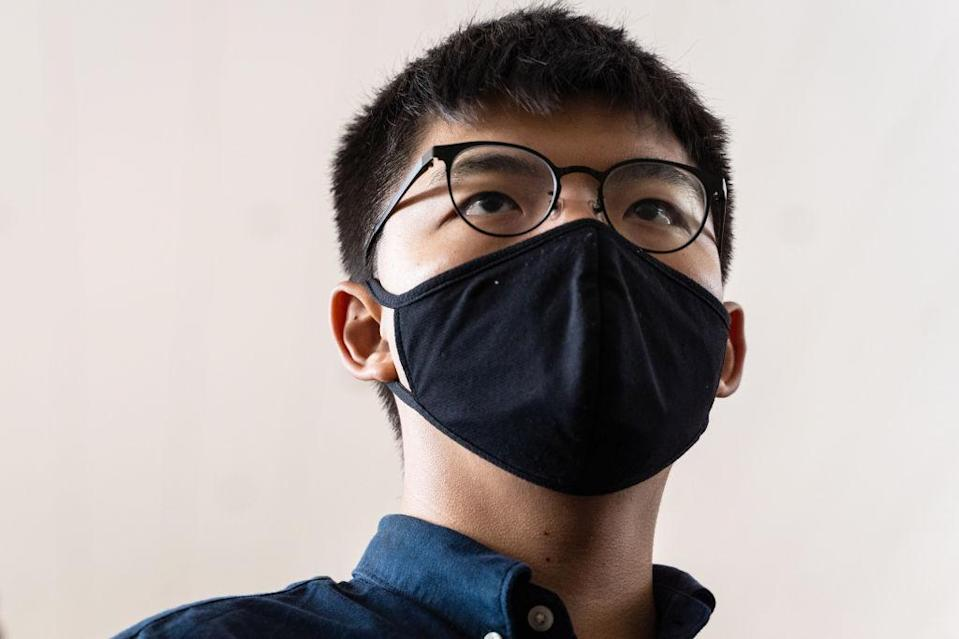 Activist Joshua Wong Appears At Court To Plead Guilty to Hong Kong Protest-Related Charge