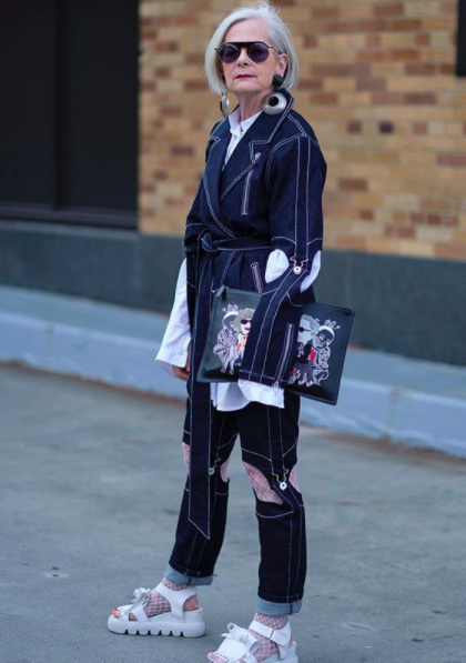 "<p>64-year-old Lyn Slater has garnered over 300,000 <a rel=""nofollow"" href=""https://www.instagram.com/iconaccidental/"">Instagram</a> followers thanks to her eclectic style. The university professor refers to herself as an 'Accidental Icon' after she became renowned for her aesthetic when photographed during New York Fashion Week purely by accident. <em>[Photo: Instagram]</em> </p>"