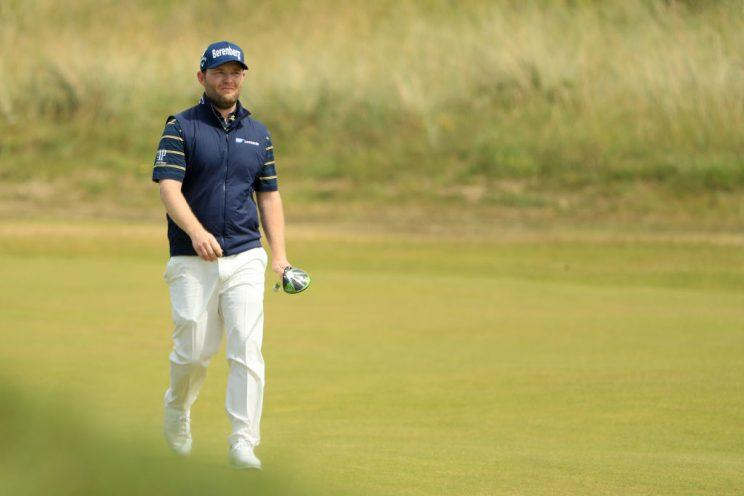 Branden Grace makes major history by firing 62 at British Open