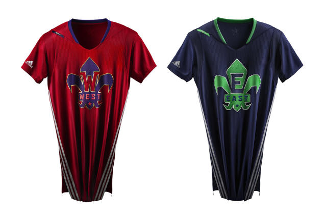 NBA All-Star jerseys will have sleeves