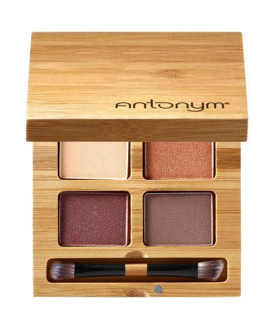 """<p>If you think natural eyeshadows lack pigment and blendability, this neutral quad will have you reconsidering everything.</p><p><strong>Antonym</strong> Certified Organic Eyeshadow Quattro in Noisette, $39, available at <a href=""""http://www.sephora.com/certified-organic-eyeshadow-quattro-P421436?skuId=1977545&icid2=antonym_lp_fromthebrand_carousel:p421436"""" rel=""""nofollow noopener"""" target=""""_blank"""" data-ylk=""""slk:Sephora"""" class=""""link rapid-noclick-resp"""">Sephora</a>.</p>"""