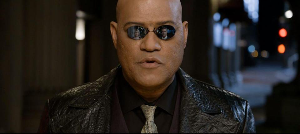 <p>If you forget the subpar sequels, in which he's unforgivably sidelined, Laurence Fishburne's Morpheus is the absolute star of <em>The Matrix</em>. Yes, Neo is a God-like figure, and Trinity kicks some major ass, but they all do it because Morpheus tells them to. They succeed at jumping across buildings, shooting up skyscrapers, and fending off dreaded agents because their leader sets a tough-as-nails example for them to follow.</p>