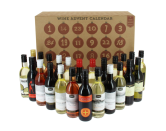 """<p>A combination of 24 mini bottles of white, red, rose and mulled wine, including South African Merlot, Australian Chardonnay, Chilean Sauvignon Blanc and a stunning White Zinfandel from the USA.<br></p><p>£60 <a href=""""http://www.pamperhampercompany.co.uk/product/mini-wine-advent-calendar-2016/"""" rel=""""nofollow noopener"""" target=""""_blank"""" data-ylk=""""slk:Pamper Hamper Co."""" class=""""link rapid-noclick-resp"""">Pamper Hamper Co.</a></p>"""