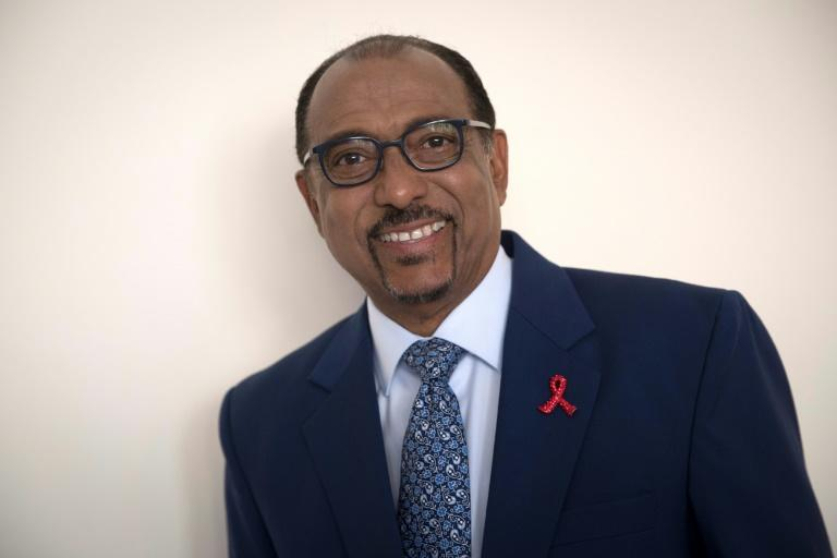 """Malian Michel Sidibe, Executive Director of UNAIDS, warned that a funding gap of almost $7 billion in AIDS prevention may lead to an increase in the number of infections, with people having to """"pay later"""" what is not being paid for now in prevention"""