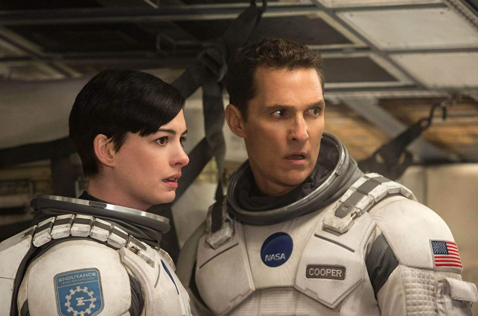 <p>Moviegoers were left in awe after witnessing the events of <em>Interstellar </em>unfold. Without sharing any spoilers, the Anne Hathaway and Matthew Mcconaughey film was the buzziest of the year thanks to the surprise twist at the end.<br></p>