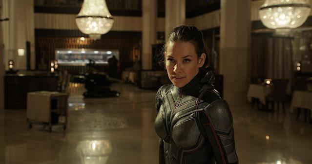Evangeline Lilly in <em>Ant-Man and the Wasp.</em> (Photo: Disney/Marvel)