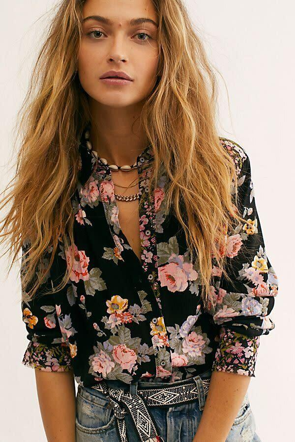 """This top comes in sizes XS to XL. <a href=""""https://fave.co/2SCqk4H"""" rel=""""nofollow noopener"""" target=""""_blank"""" data-ylk=""""slk:Find it at Free People for $98"""" class=""""link rapid-noclick-resp"""">Find it at Free People for $98</a>."""