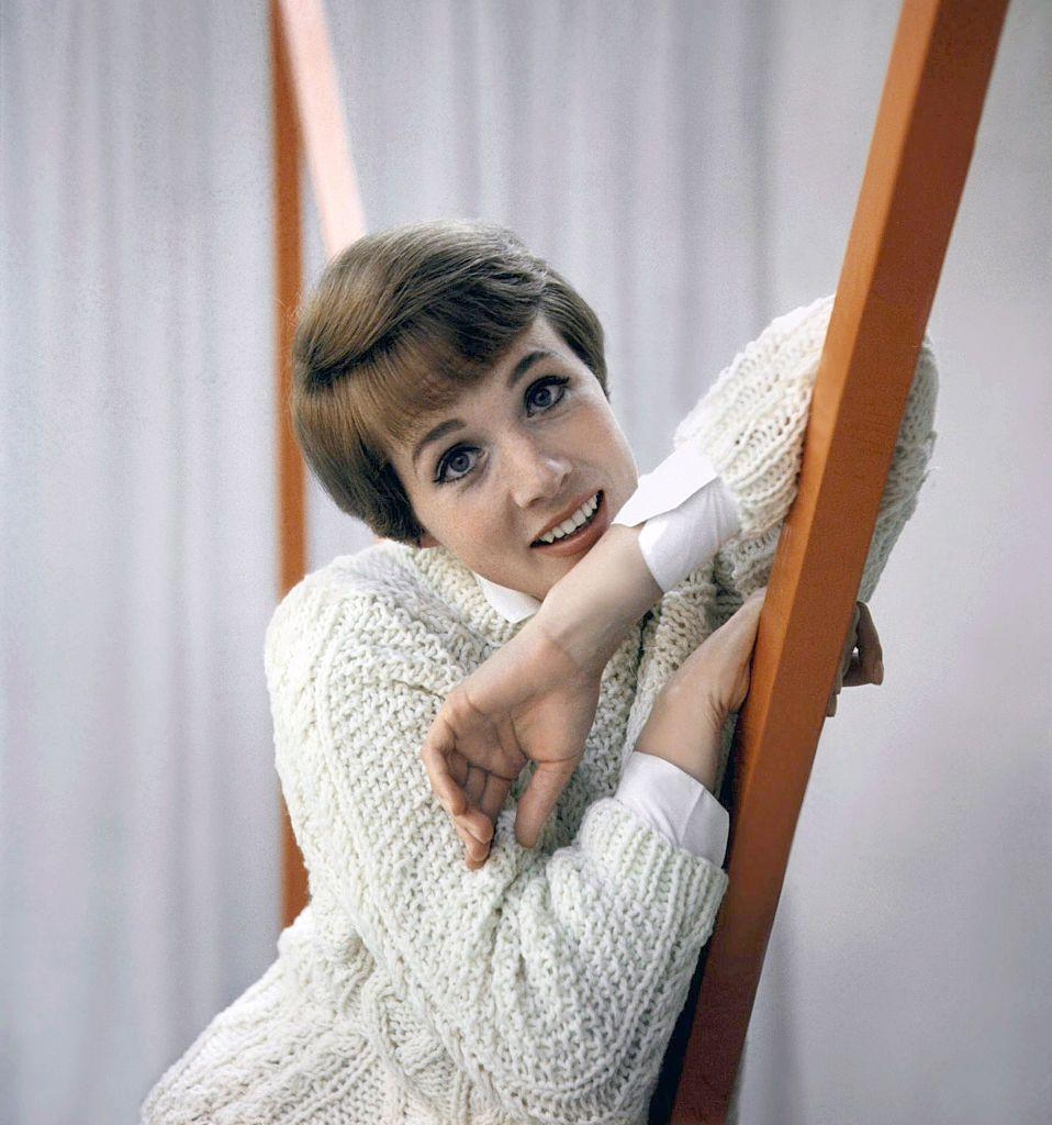 <p>Julie Andrews poses for a portrait in Los Angeles. </p>