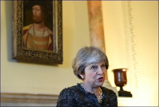 Premierministerin Theresa May