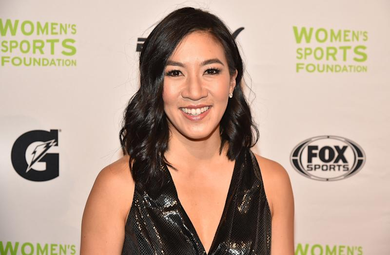 Michelle Kwan won two Olympic medals, five World championships and nine U.S. national championships. (Theo Wargo via Getty Images)