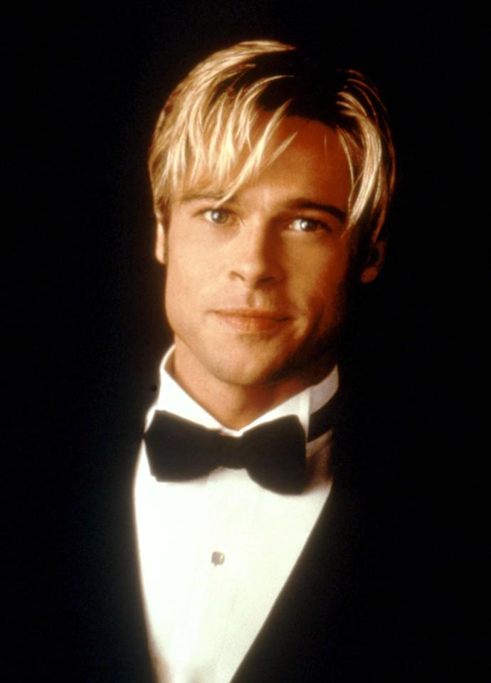 <strong>Brad Pitt - Meet Joe Black (1998)</strong><br><br>He certainly looks pretty but a bleach blonde Pitt starring as Death only adds to the schmaltz factor of this three-hour snooze-fest.