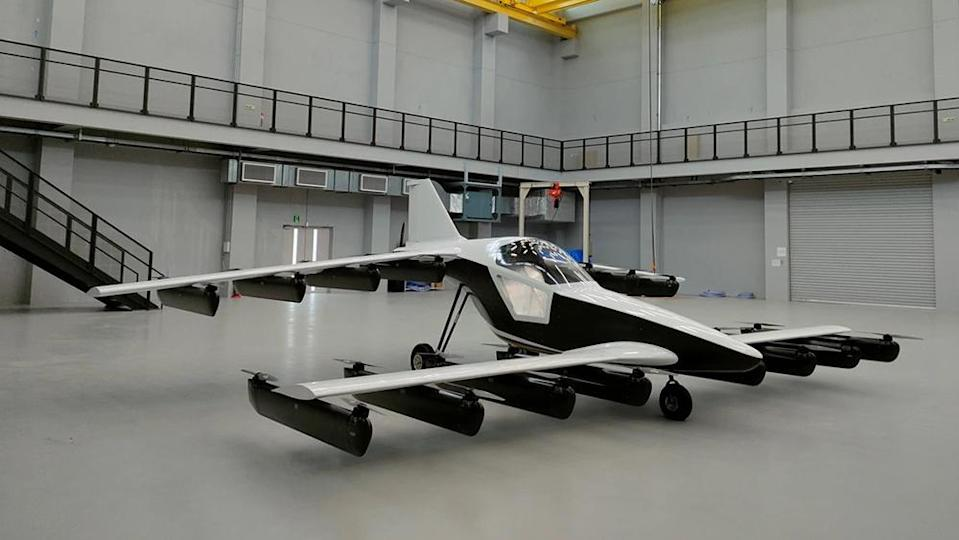 The Mk-5 has a range of 100 miles and can reach speeds of up to 100 mph. - Credit: Tetra Aviation