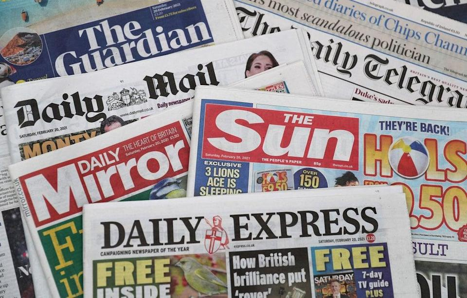 What the papers say – September 23 (PA) (PA Archive)