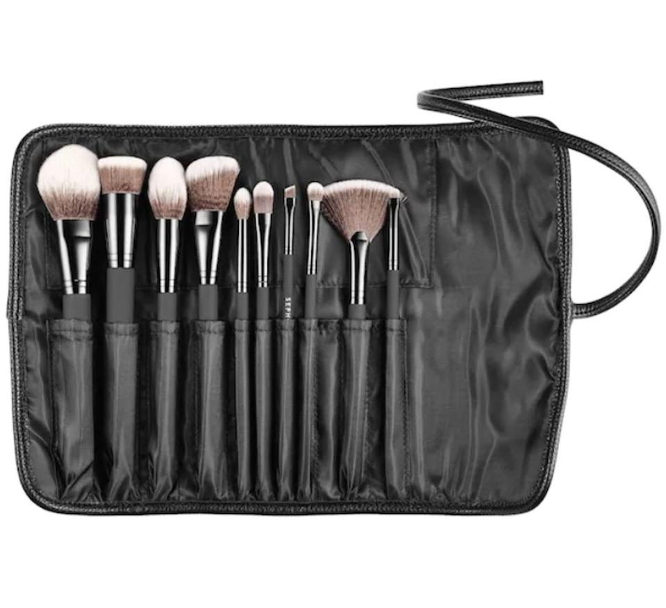 sephora collection brush set