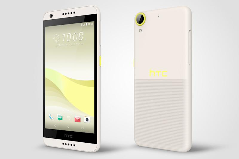 htc desire news lime light
