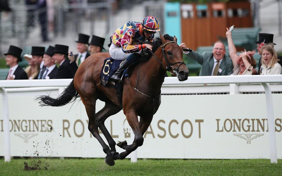 Create Belief bolted up to win the Sandringham Stakes - REUTERS