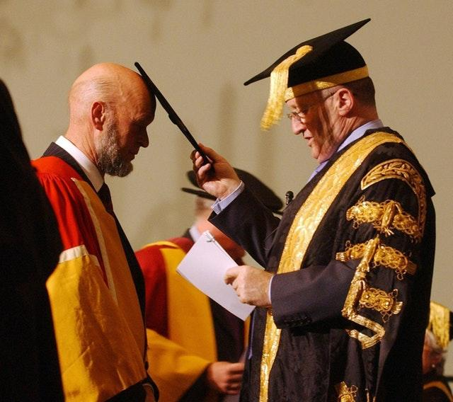 Michael Eavis Doctor of Arts