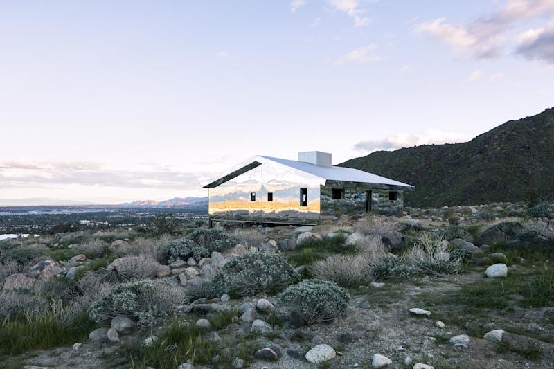 *AD* sits down with artist Doug Aitken at his Desert X headliner on the occasion of its unveiling