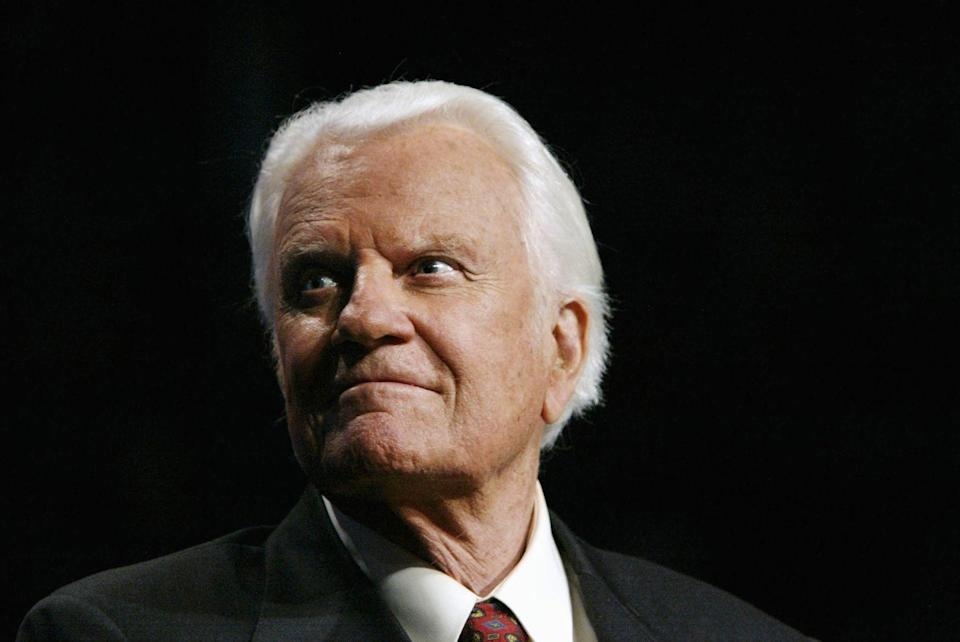 <p>Like Mandela, many can't place when Billy Graham's funeral aired on TV. That's probably because it didn't happen long ago. He died in February 2018...</p>