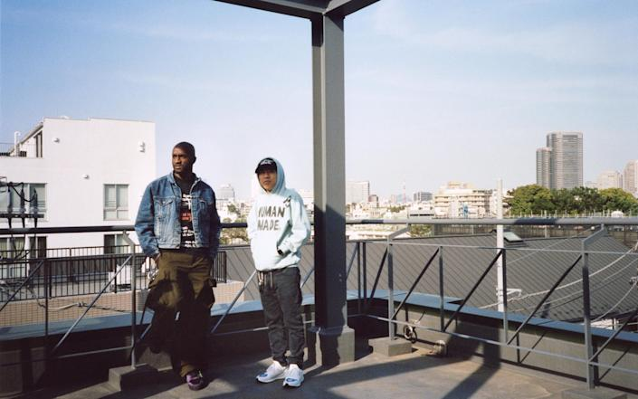 Virgil Abloh and Nigo - Nick Haymes