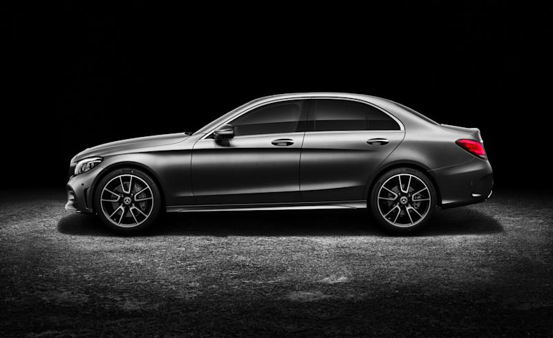2019 mercedes benz c class sedan design and tech from its for Embrace by mercedes benz