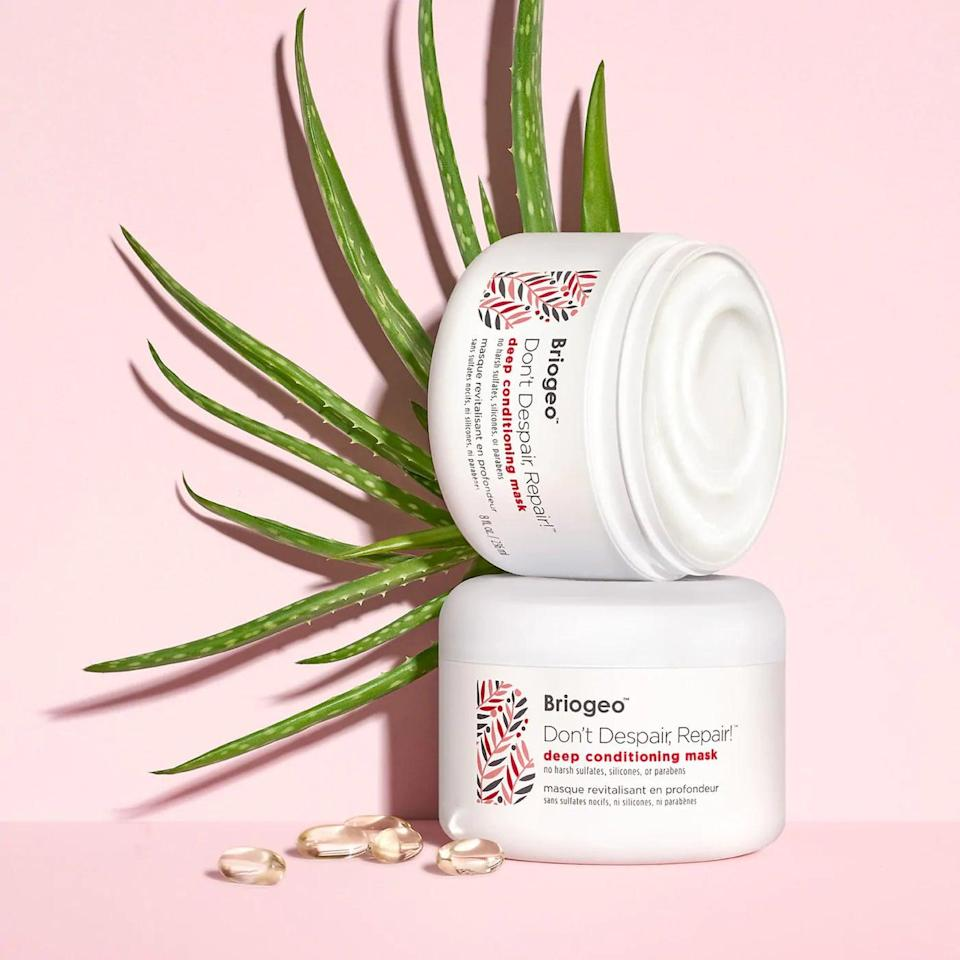 <p>The <span>Briogeo Don't Despair, Repair! Deep Conditioning Mask </span> ($36) is a fan-favorite and perfect for all hair types. Using this mask once a week adds moisture, shine, and softness back into your hair. </p>