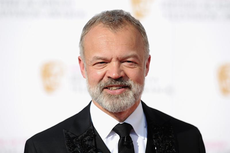 LONDON, ENGLAND - MAY 08: Graham Norton attends the House Of Fraser British Academy Television Awards 2016 at the Royal Festival Hall on May 8, 2016 in London, England. (Photo by Stuart C. Wilson/Getty Images)