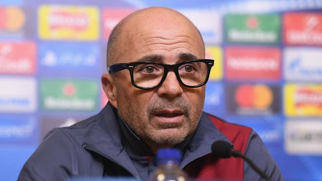 Sevilla's alarming slump in form is the sole focus for coach Jorge Sampaoli despite rumours linking him with a move away.