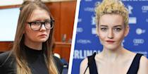 """<p>Shonda Rhimes' first foray at Netflix, <em>Bridgerton, </em>is already a massive hit. But her next series, <em>Inventing Anna, </em>has the potential to be even bigger. The show will find Julia Garner (<em>Ozark</em>) as notorious New York City scammer Anna Delvey, who scammed her was financially and socially into some of the world's highest class institutions. Based on Jessica Pressler's <a href=""""https://www.thecut.com/2018/05/how-anna-delvey-tricked-new-york.html"""" rel=""""nofollow noopener"""" target=""""_blank"""" data-ylk=""""slk:story from"""" class=""""link rapid-noclick-resp"""">story from </a><em><a href=""""https://www.thecut.com/2018/05/how-anna-delvey-tricked-new-york.html"""" rel=""""nofollow noopener"""" target=""""_blank"""" data-ylk=""""slk:The Cut"""" class=""""link rapid-noclick-resp"""">The Cut</a>. </em></p>"""