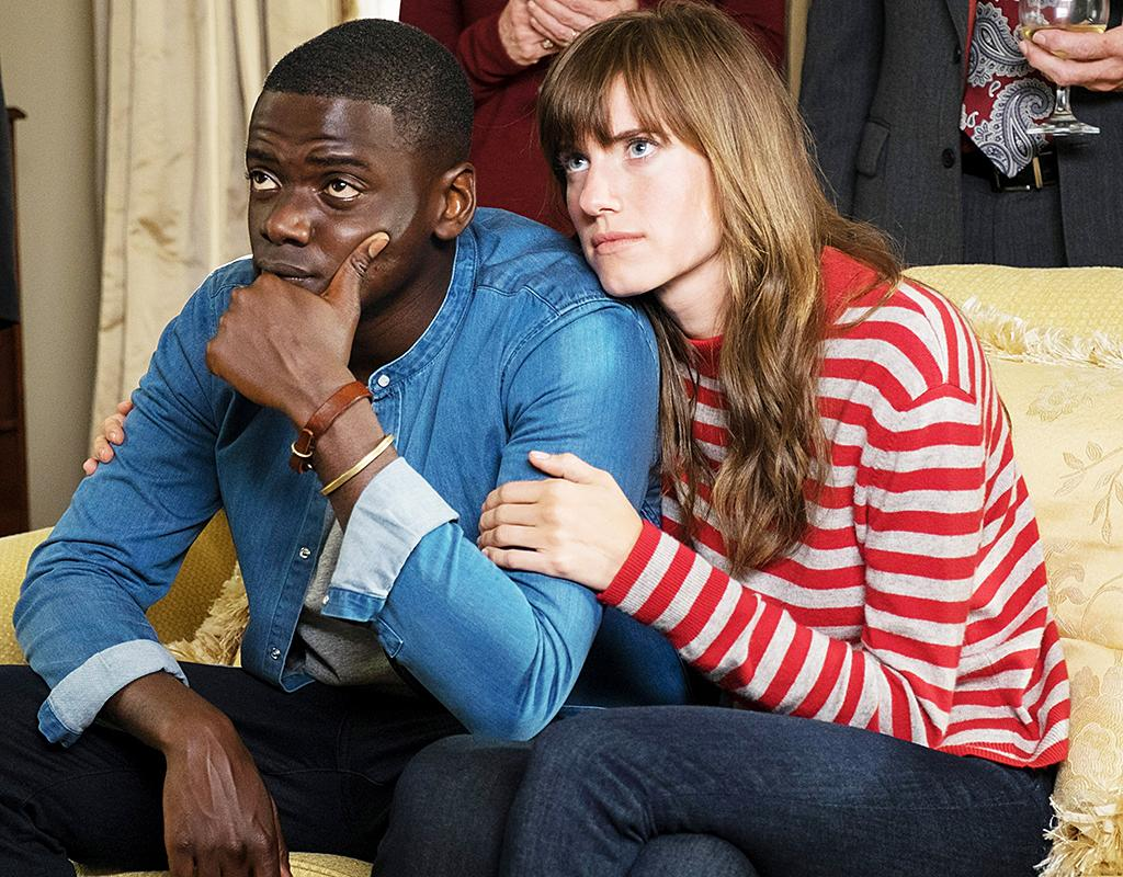"""<p>The year's most critically hailed (horror) film is a slice of sinister social commentary concerning a young African-American man (Daniel Kaluuya) who takes a trip with his white girlfriend (Allison Williams) to visit her suburban parents (Bradley Whitford and Catherine Keener). At that left-leaning enclave, however, something malevolent is afoot — and it involves the minority members of the community. <em>— N.S.</em><br /><br /><i>Available to stream: <a rel=""""nofollow"""" href=""""https://www.youtube.com/watch?v=sRfnevzM9kQ"""">HBO Now and HBO Go</a> (and other services to rent)</i><br /><br />(Photo: Justin Lubin/Universal Pictures/courtesy Everett Collection) </p>"""