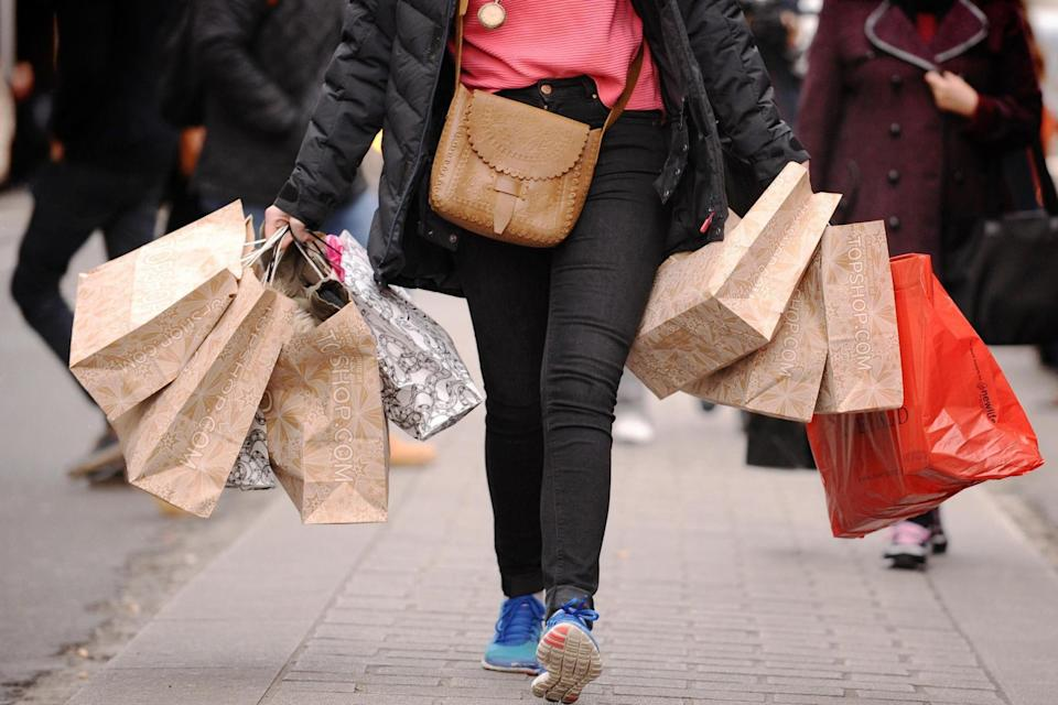 Shops on the high street have faced a decline in footfall: PA Wire/PA Images
