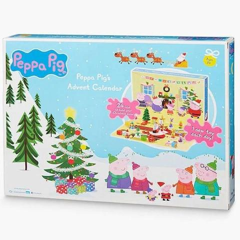 Peppa Pig Advent Calendar from John Lewis & Partners - Credit: John Lewis & Partners