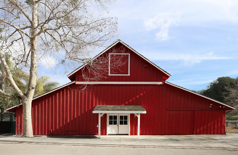 The barn at Neverland Ranch once housed Michael Jackson's many animals. (Photo: Compass)
