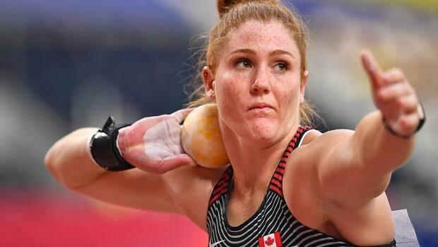 After setting a personal-best throw of 18.84 in February 2020, Canada's Sarah Mitton believed working on her mental performance was the next step to achieving greater results.