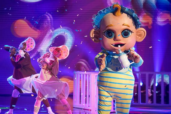 The Baby on 'The Masked Singer.' (Photo: Fox)