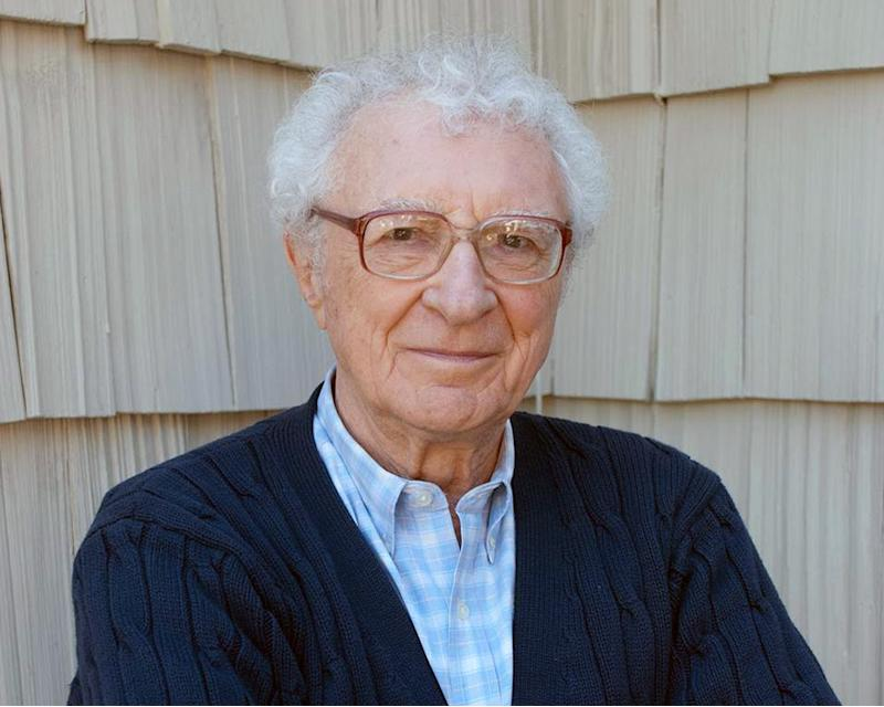 "This 2012 image released by Katz Public Relations shows Sheldon Harnick at his home in East Hampton, N.Y. The 89-year-old Tony- and Grammy Award-winning lyricist and writer has written a few musicals, including; ""Dragons,"" a new musical based on the Moliere comedy ""The Doctor in Spite of Himself, ""Smiling, The Boy Fell Dead,"" based on a book by Ira Wallach and the 1960 off-Broadway flop, and ""Dragons"" based on Yevgeny Schwartz's play ""The Dragon,"" which Harnick saw in 1963 and thought cried out to be made into a musical. (AP Photo/Katz Public Relations, Matthew Harnick)"