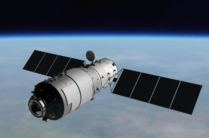 """China's """"Heavenly Palace' space station"""