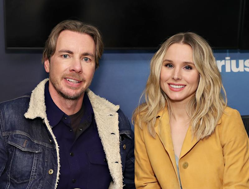 """Dax Shepard and Kristen Bell may be the biggest celebrity fans of """"Game of Thrones,"""" and proved it again at a Season 8 premiere party."""
