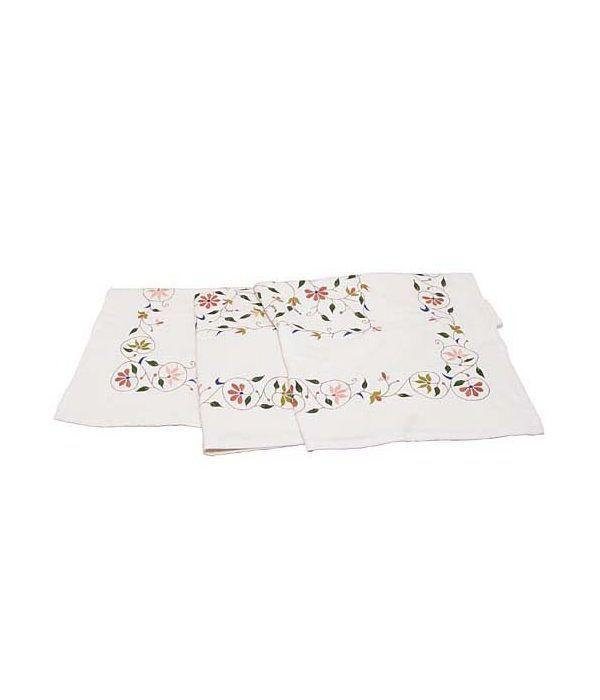 """<p>tenthousandvillages.com</p><p><strong>$150.00</strong></p><p><a href=""""https://www.tenthousandvillages.com/kitchen-dining/vining-flowers-tablecloth"""" rel=""""nofollow noopener"""" target=""""_blank"""" data-ylk=""""slk:Shop Now"""" class=""""link rapid-noclick-resp"""">Shop Now</a></p><p>Vining flowers creep across this gorgeous hand-embroidered tablecloth made in India. <a href=""""https://www.tenthousandvillages.com/"""" rel=""""nofollow noopener"""" target=""""_blank"""" data-ylk=""""slk:Ten Thousand Villages"""" class=""""link rapid-noclick-resp"""">Ten Thousand Villages </a>has been a pioneer in fair trade for over 60 years, helping to support communities all over the world by bringing handmade goods to the global market.</p>"""