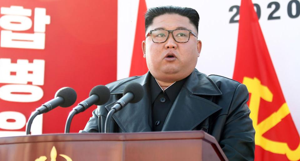 Kim Jong-un has banned ripped jeans and mullets to stop Western influences. Source: Getty